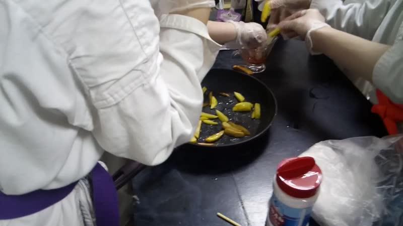 Картофель фри по-каратэковски