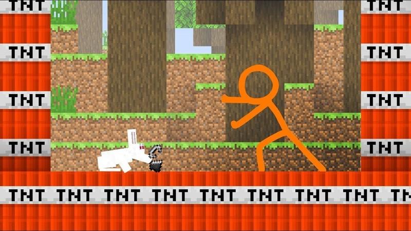 TNT Land - Animation vs. Minecraft Shorts Ep. 12