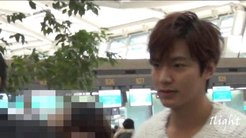 Lee Min Ho 20140317 중국 출국 국 Incheon Gimpo Airport