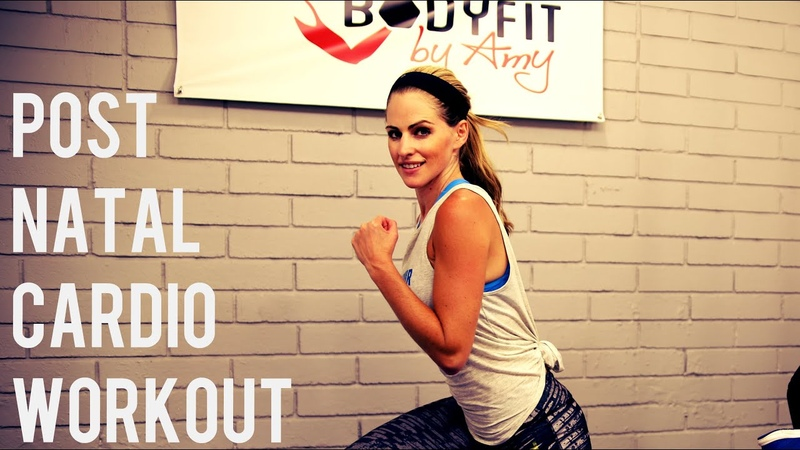 20 Minute Post Natal Cardio Workout For After Pregnancy