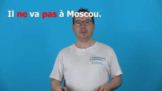 Отрицание во французском языке, ne pas -  французская грамматика онлайн, курсы для детей   с 8 лет