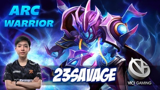 23savage Arc Warden - Vici Gaming Talent - Dota 2 Pro Gameplay [Watch & Learn]