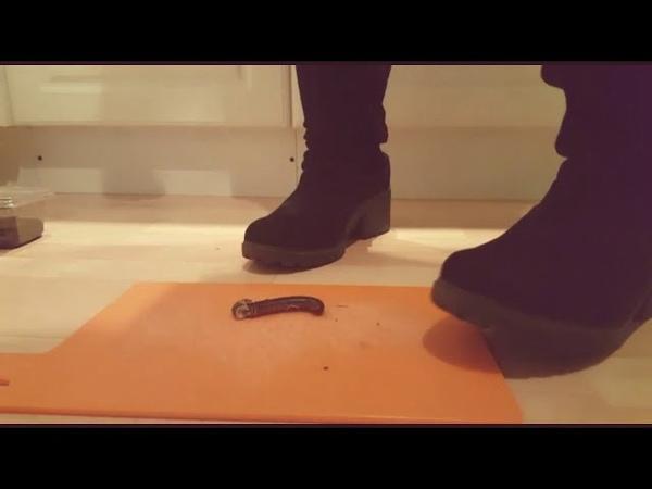 Boots, bug crush
