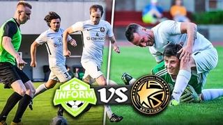 ФК INFORM vs ART-STARS / Блоггеры против белорусских звезд