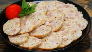 Зачем покупать вредную колбасу в магазине? Вкусные Куриные Колбаски   Кулинарим с Таней
