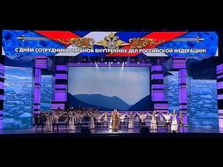Выступление якутских полицейских и Национального театра танца в Кремле 10 ноября 2019 года