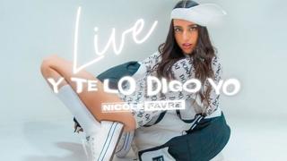 Nicole Favre (EN VIVO) - Estreno de mi primer álbum Y Te Lo Digo Yo (Live Redirect)