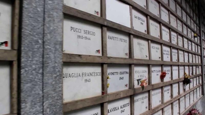Caduti della RSI sepolti presso il cimitero di Torino