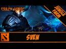 Dota 2 Sven Jungle 6 88 CrazySerge HD