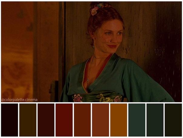 Цветовая гамма исторической драмы «Банды Нью-Йорка»