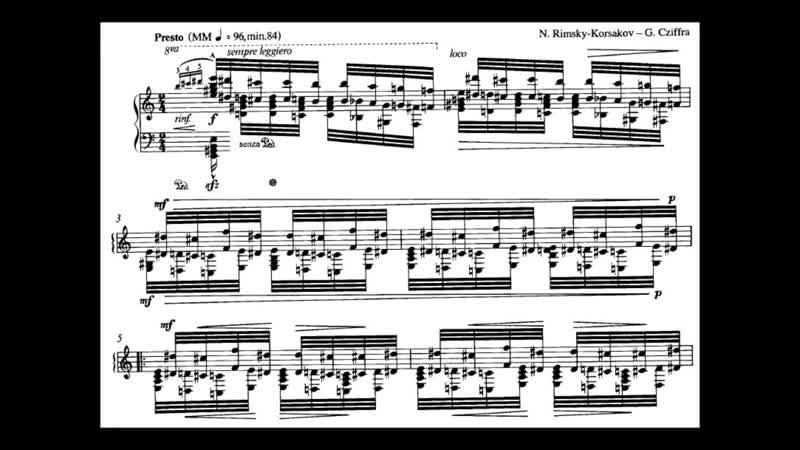 Cziffra plays Rimsky Korsakov Cziffra Flight of the Bumblebee