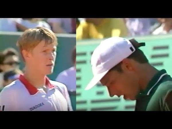 Kafelnikov vs Stich Roland Garros 96' Final