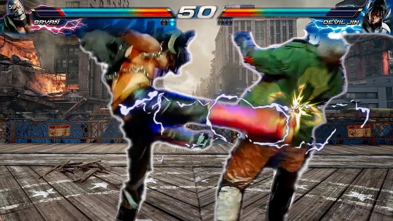 Bryan Fury vs Devil Jin Stage Battle IRL