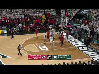 NCAAM 20200215 #9 Maryland vs. Michigan State