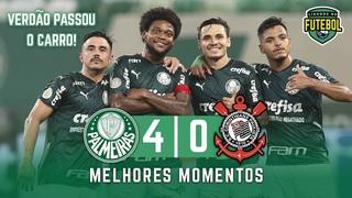 Palmeiras 4 x 0 Corinthians | Melhores Momentos | Brasileirão 18/01/2021
