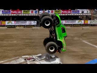 Colorado State Fair   Monster Truck Freestyle 2013
