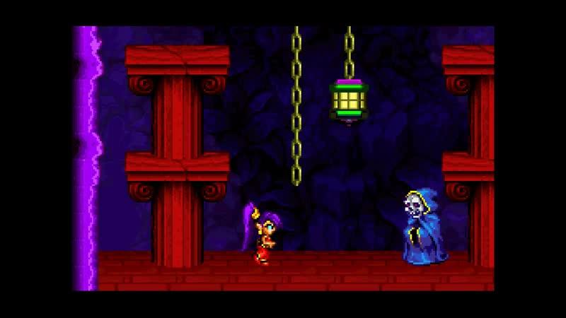 Akanai play Shantae Riskys Revenge - Третья печать 9