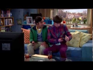 Magic Remote Wand Ad -  The Big Bang Theory Season 7 Episode 16 The Table Polarization