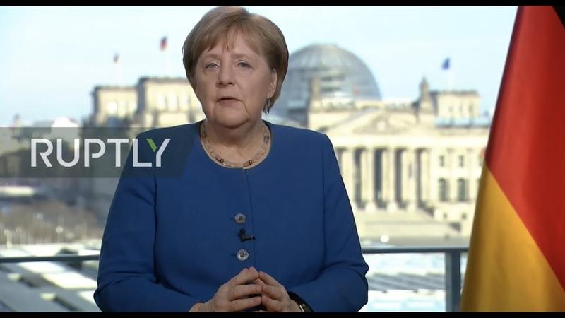 REFEED Merkel addresses the nation on increasing coronavirus threat ENGLISH