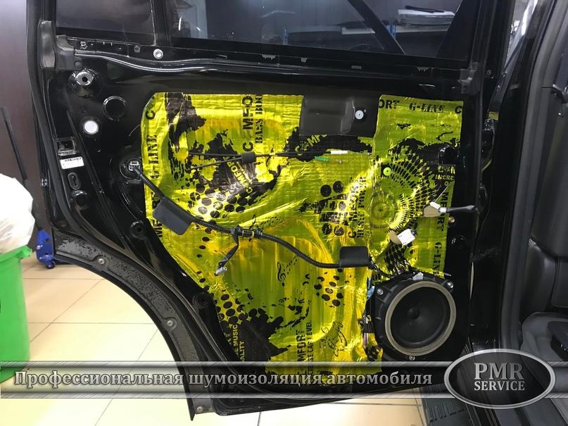 Комплексная шумоизоляция Toyota Land Cruiser 120, изображение №10