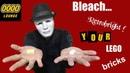 How to bleach LEGO bricks Retrobright Secrets