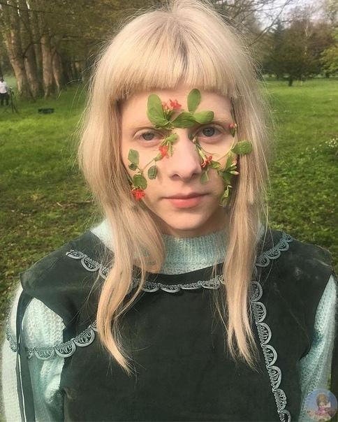 Норвежская певица и актриса Аврора Акснесс