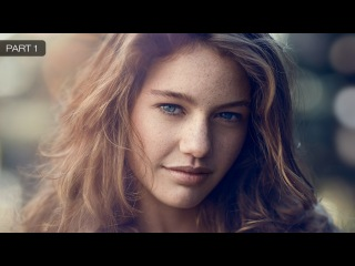 А Natural Outdoor Portrait Retouching in Photoshop (Part 1)