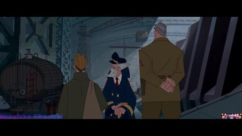 Майло Знакомится с Командой отрывок из мультфильма Атлантида Затерянный Мир 2001