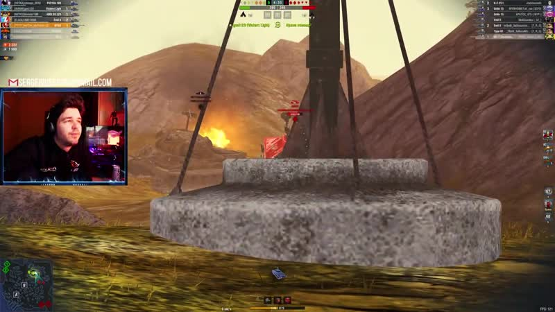 WoT Blitz Бесконечная битва на СТОК пушке ● Как танк M103 сделал невозможное против 10 WoTB