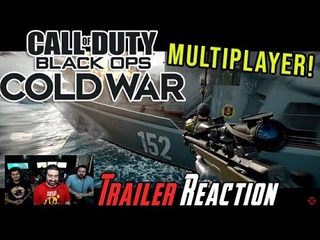COD: Black Ops Cold War Multiplayer - Angry Trailer Reaction!