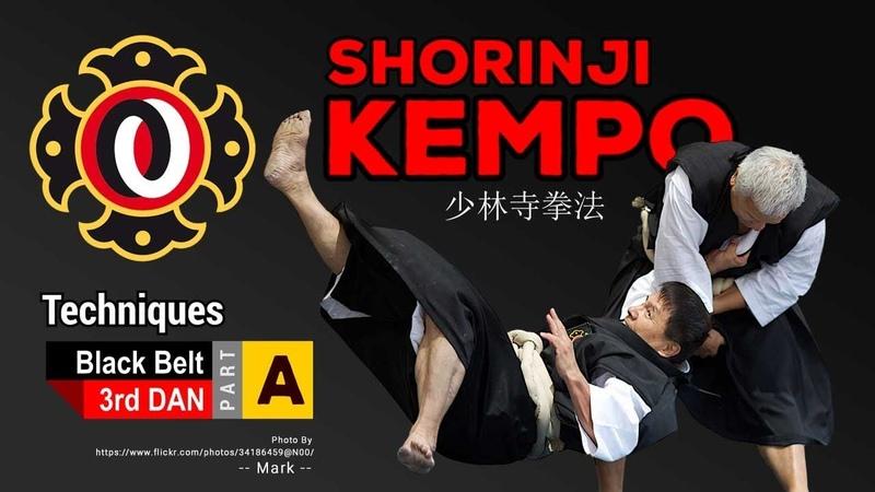 Techniques of Shorinji Kempo Black Belt 3rd DAN part A