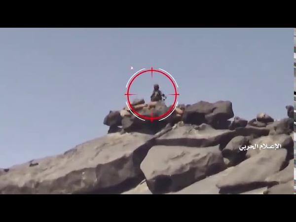 جديد قناص نجران عمليات قنص مسددة على جنود ومرتزقة النظام السعودي
