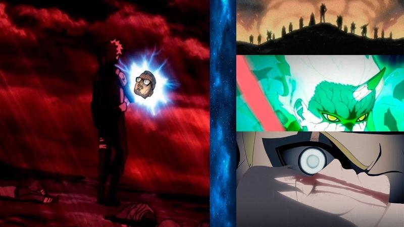 Кашин Коджи против Амадо Наруто спасёт Кода и загубит Коноху Оружия Ооцуцуки