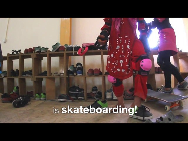 Afghanistan's Girl Skaters Kabul 2012
