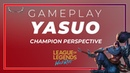 LEAGUE OF LEGENDS WILD RIFT YASUO GAMEPLAY AND PERSPECTIVE
