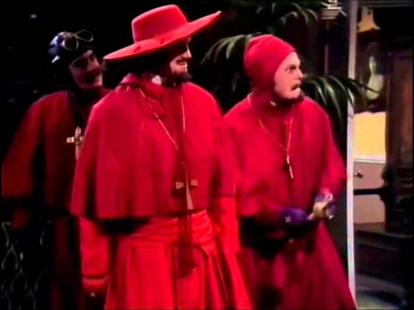 Reaction video The Spanish Inquisition На случай важных переговоров Испанская Инквизиция
