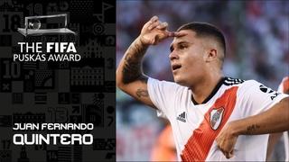 FIFA PUSKAS AWARD 2019 FINALIST: Juan Fernando Quintero