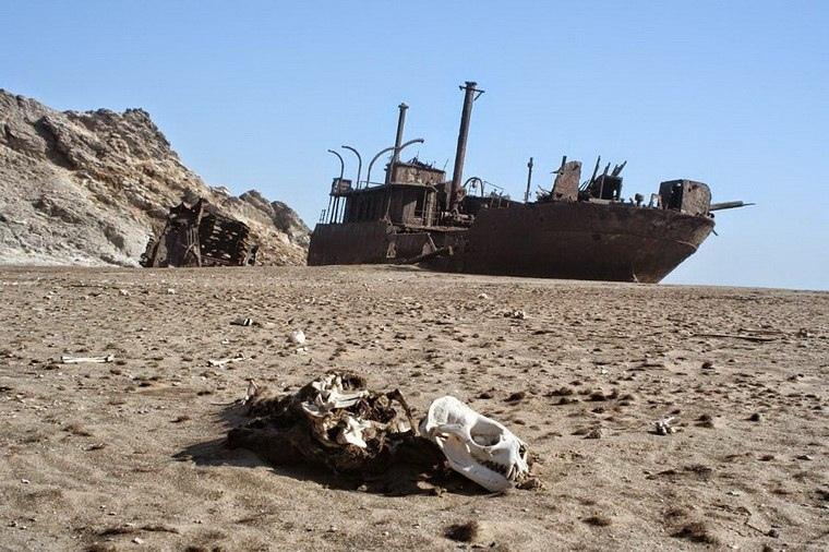 Интересные места нашей планеты Берег скелетов (Намибия), изображение №1