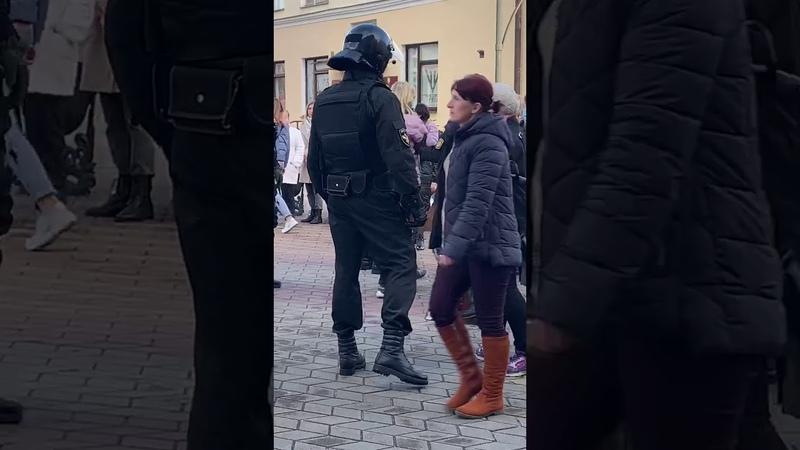В Бресте задержали не всем не виновную девушку Вот так вот фабрикуют дела в Беларуси