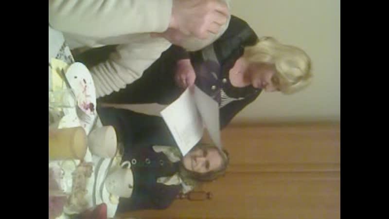 08.01.2014 р. Святкуємо з бабулькою наші іменини Марії. Я бабуню дорогу вітаю з іменинами.
