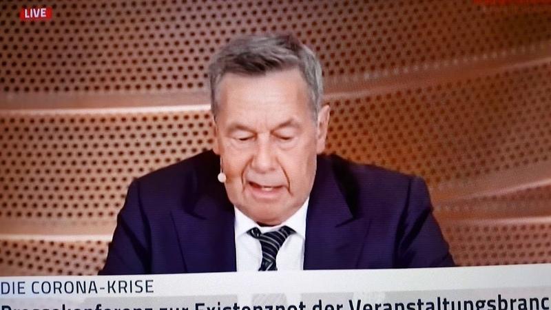 Roland Kaiser Alarmstufe Rot Pressekonferenz