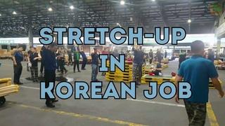 Зарядка по-корейски на работе (Южная Корея )