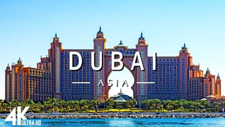 FLYING OVER DUBAI ( 4K UHD ) - Relaxing Music Along With Beautiful Nature Videos - 4K Video Ultra HD