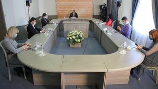 Пресс-конференция губернатора Ростовской области В.Ю.Голубева