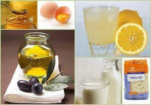 Маска Клеопатры Для приготовления этой омолаживающей маски возьмите - 1 ст. л. мёда - 1 ст. л. сока лимона - 1 яйцо - 1 ст. л. молока - 1 ст. л. растительного масла - овсяные хлопья добавьте до