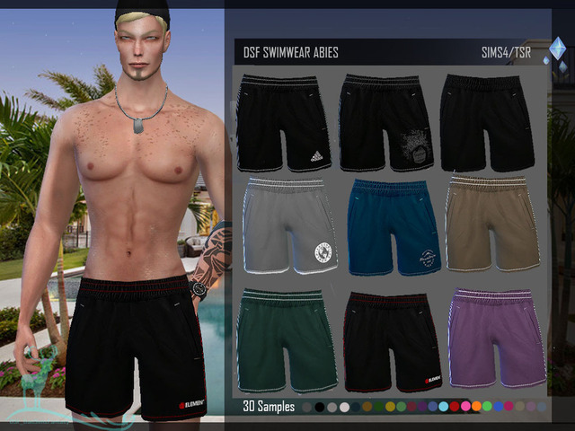 Мужская одежда (низ) для The Sims 4 со ссылками на скачивание