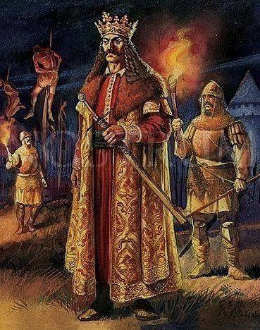 Гробница графа Дракулы. Самый известный персонаж Брэма Стокера граф Дракула имел реально исторического прототипа, князя Валахии. Дракула воевал против турок, с одной стороны он являлся