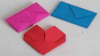 Como doblar cartas .Como doblar hojas para regalar. San Valentin. 14 de febrero.