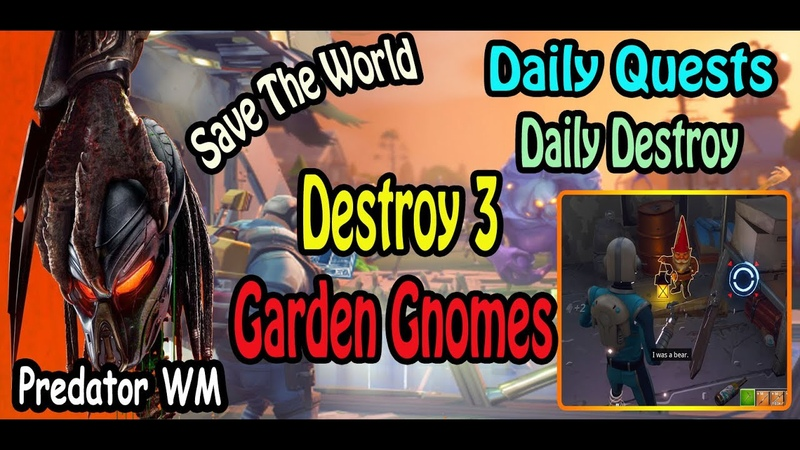 Destroy 3 Garden Gnomes in successful missions