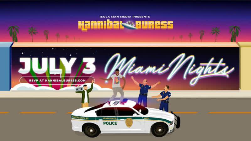 Хэннибал Бёресс Ночи в Майами 2020 Русские Субтитры